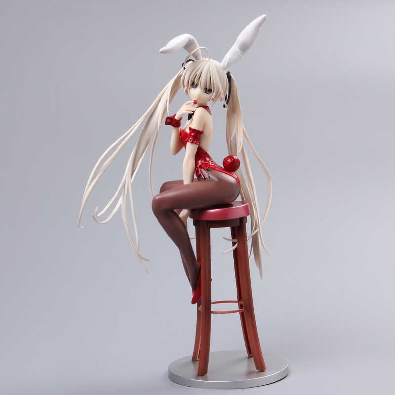 Bunny Girl Swiming Suit Yosuga No Sora 26cm PVC Collect Model Where We Are Least Alone Sexy 1/7 Scale Anime Action Figure SS0002