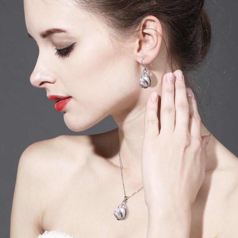 MINTHA Բոհեմի վանդակի վզնոց մարգարիտ - Նուրբ զարդեր - Լուսանկար 5