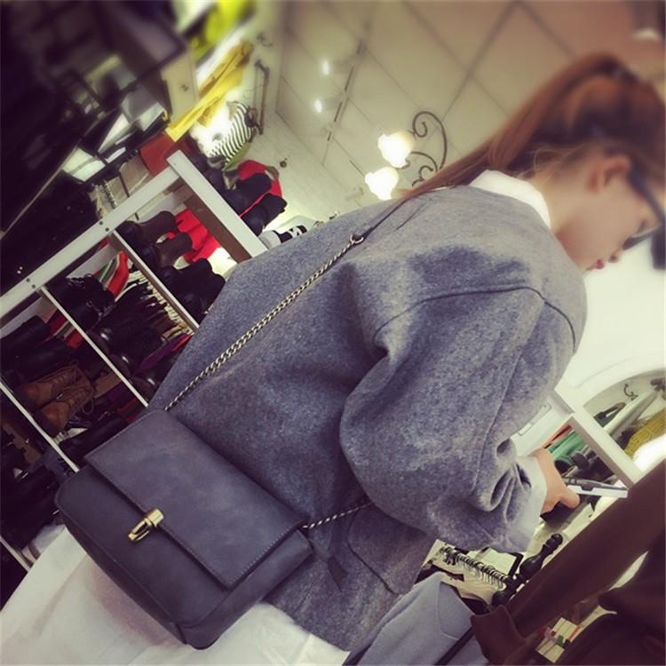 2015 New Fashion Women Bag Leahter Handbags Small Messenger Bolsa Feminina Crossbody Shoulder Bags  Bolsos Famous Brands Lady 012