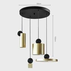 Post-nowoczesny kreatywny żyrandol do salonu Art lampka nocna lampka do sypialni projektant żyrandol Hotel jadalnia żyrandol