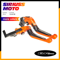 CNC Motorcycle Foldable Lever Motocross Brake Clutch Levers Case for Suzuki B KING B KING 2008 2011
