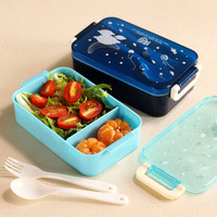 Mini Children School Bento Lunch Box Lovely Cartoon 1 2 Layers Plastic Lunchbox Food Container Small