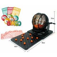 Finger Rock Bingo Game Toys Family Bingo Board Game Intelligence Toys Educational Puzzle Christmas Gifts Toys