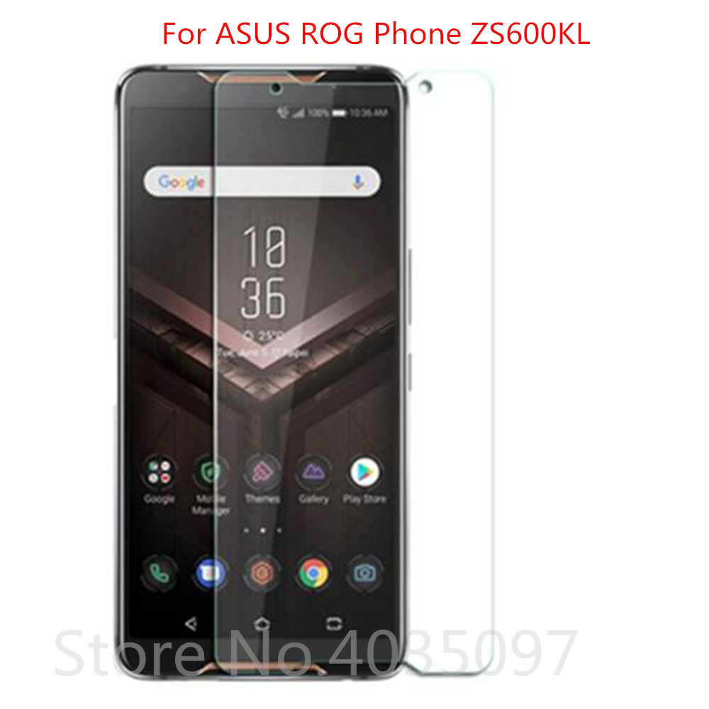 2.5D 9H Glass For ASUS ROG Phone ZS600KL Screen Protector
