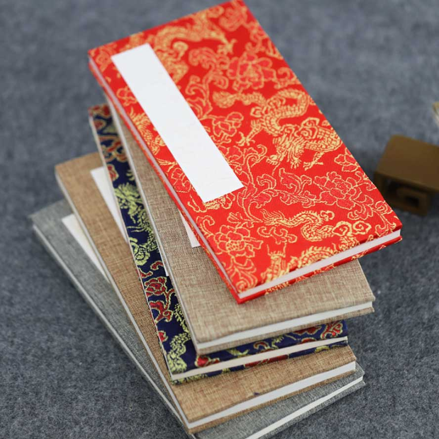 Chinese Rice Paper Notebook Folded Xuan Paper book for Painting Calligraphy Art Painting Supplies Set Chinese Rice Paper Notebook Folded Xuan Paper book for Painting Calligraphy Art Painting Supplies Set