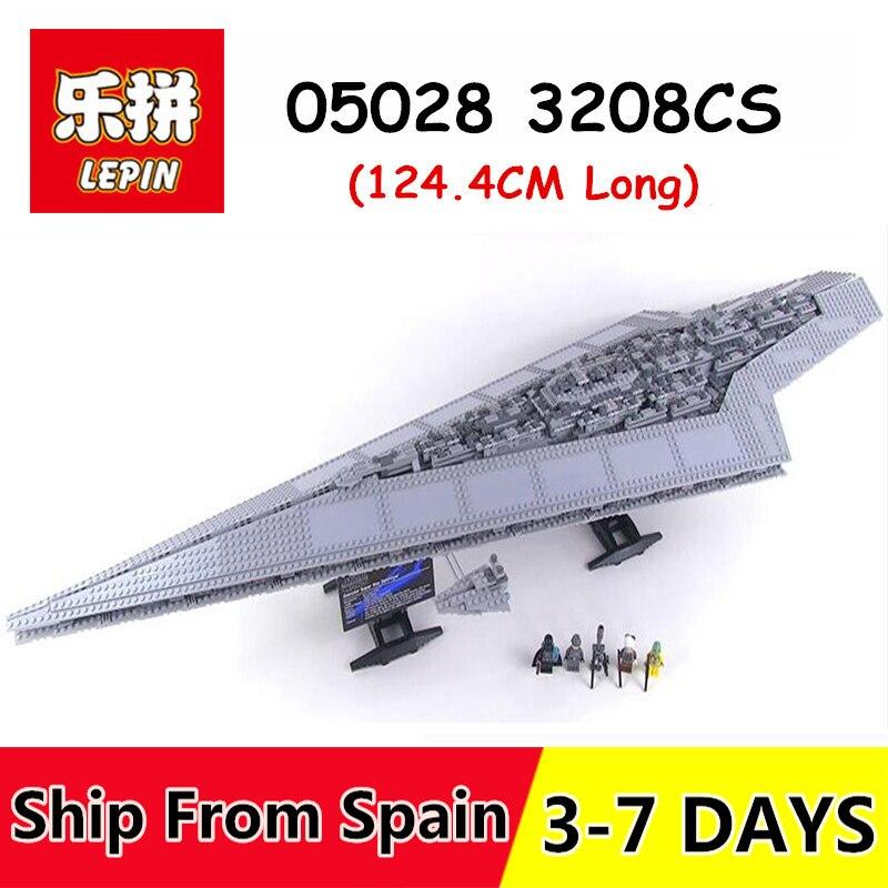 Lepin 05028 3208 stücke set spielzeug Blöcke Wars Execytor Super Star Destroyer Modell Gebäude Ziegel legoing 10221 spielzeug für Kinder