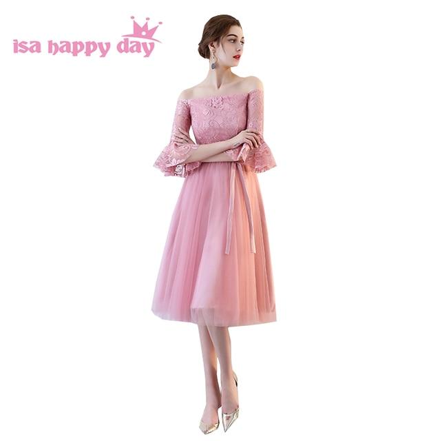 adult ladies robe blush bridesmaid dress tea tulle bridesmaides ...