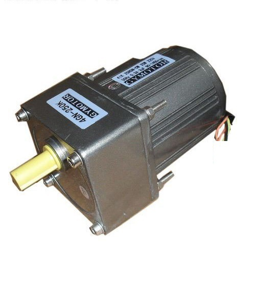AC 220V 25W Single phase gear motor Constant speed motor with gearbox AC gear motor