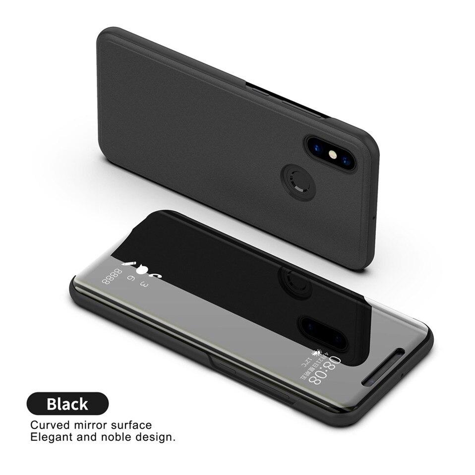 Mirror Flip Case For Xioami Redmi Note 7 5 6 pro 16