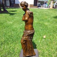 plastic statue of Venus European figures decorated copper sculpture art crafts decoration gift Home Furnishing jewelry