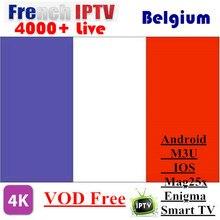 Painel de IPTV enigma2 IPTV Android suporte IPTV IPTV Francês Holandês Bélgica m3u mag250 4000 Árabe ao vivo + EPG/REINO UNIDO /francês android