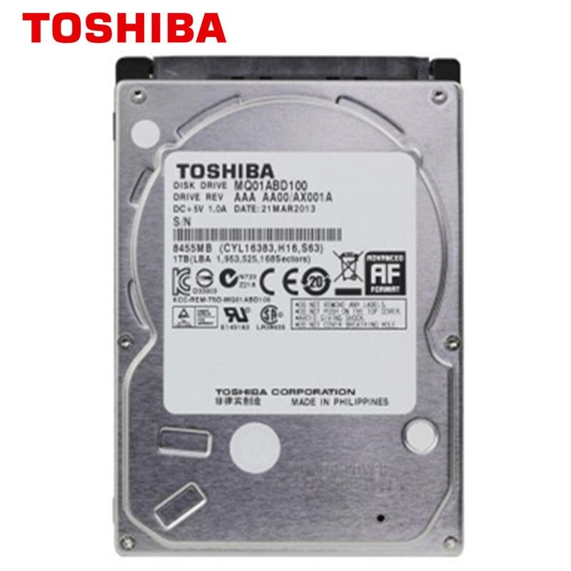 """MQ01ABD100 Toshiba 1TB 5400RPM SATA3//SATA Notebook//Laptop Hard Drive 2.5/"""""""