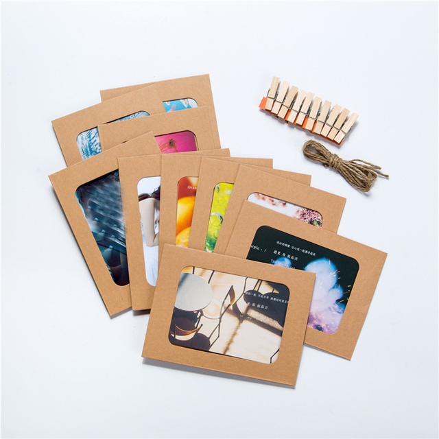 Creative Mini Paper Photo Frame