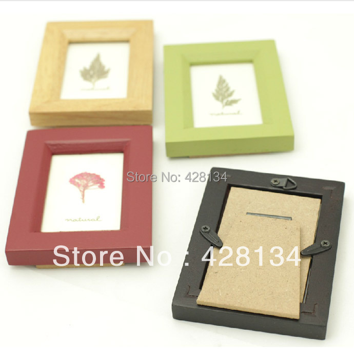 mini rubber wood photo frame mini005 mini series thumbnail frames best gifts to children wedding guests etc free shipping in frame from home garden - Mini Frame