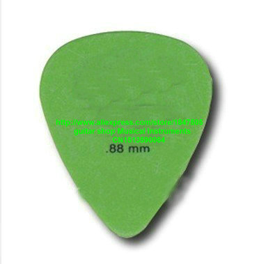 new 72 piece Guitar Picks Standard 0.88 Green Guitar Pick from china free shipping