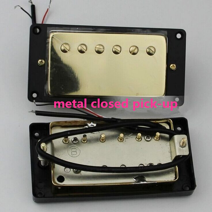 new electric guitar closed pickup in gold made in South Korea HY-02 free shipping new electric guitar semi closed pickup in chrome made in south korea hy 07