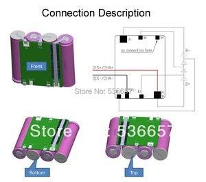 Image 4 - Freies Verschiffen 14,8 V 4S 10A BMS 4S PCM 14,8 V li ion batterie schutz bord Verwendet Für 4S 3,7 V li ion zelle