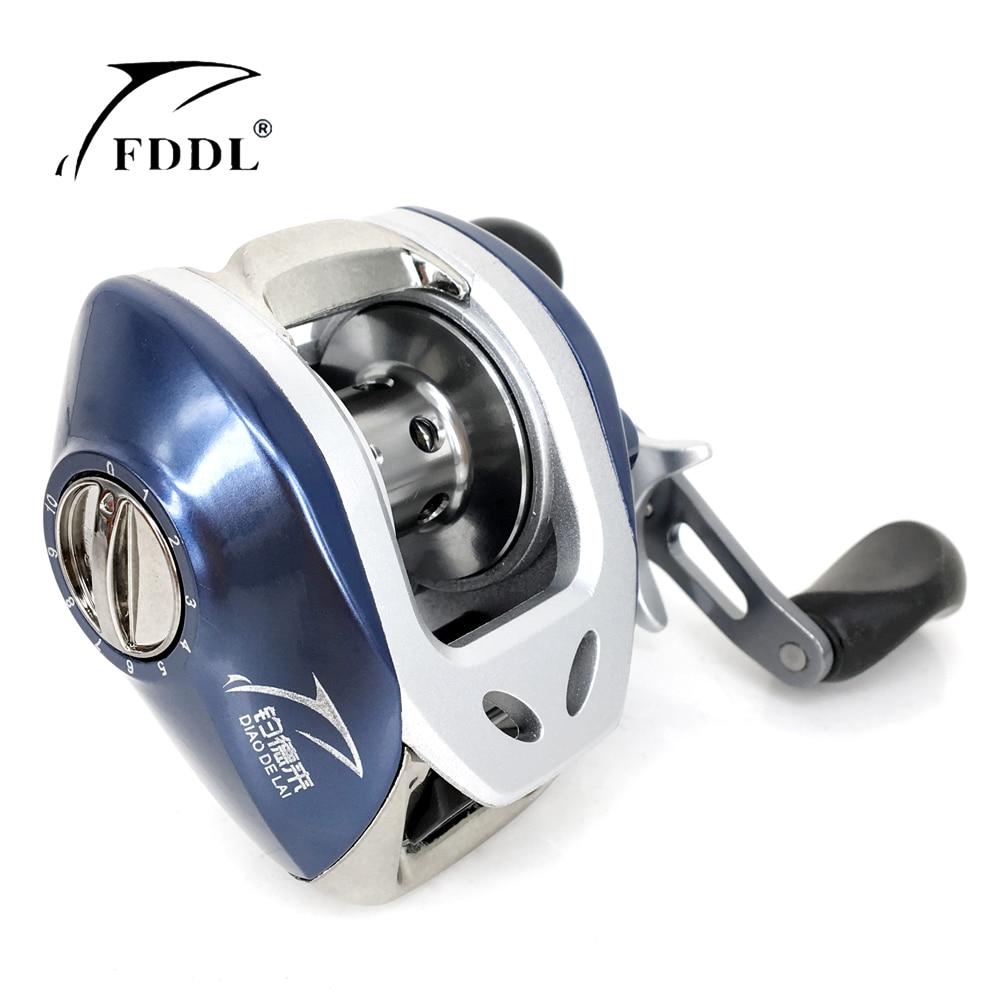 ФОТО Classic Magnetic Brake Baitcasting Reel Fishing reel 6+1 BB 6.3:1 Water Drop Wheel Bait Casting Lure Reel Carretilha Peche