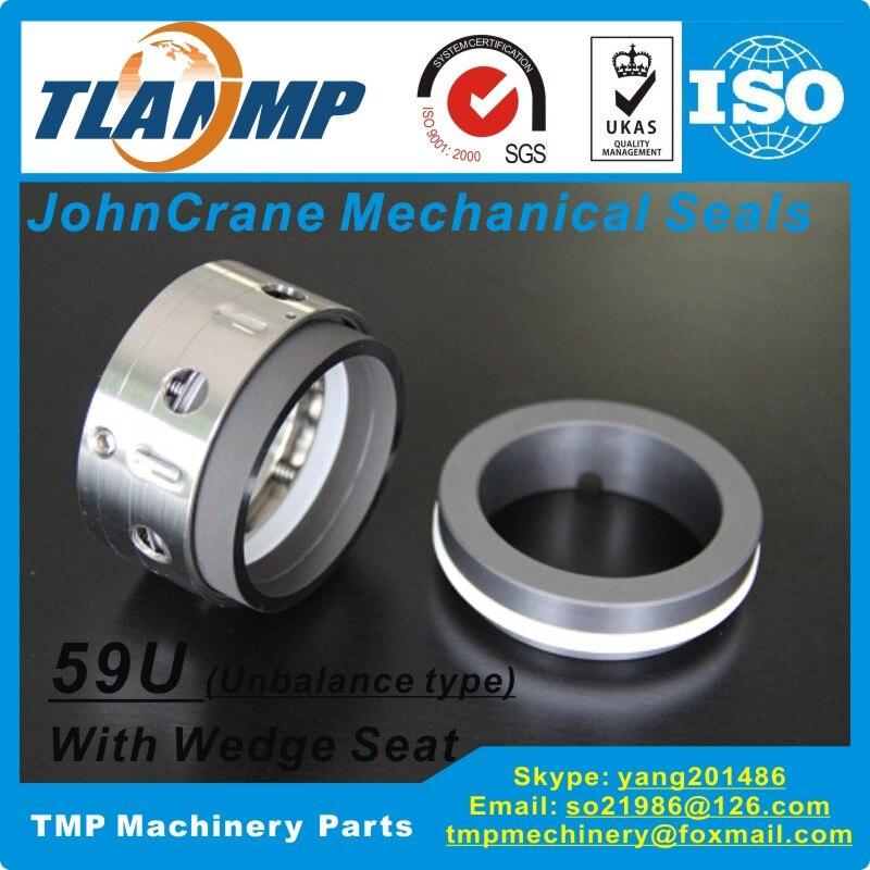 T59U-40 59U/40 John Crane joints mécaniques (matériau: SiC/carbone/PTFE)   Type 59U type de déséquilibre pour arbre taille 40mm pompes