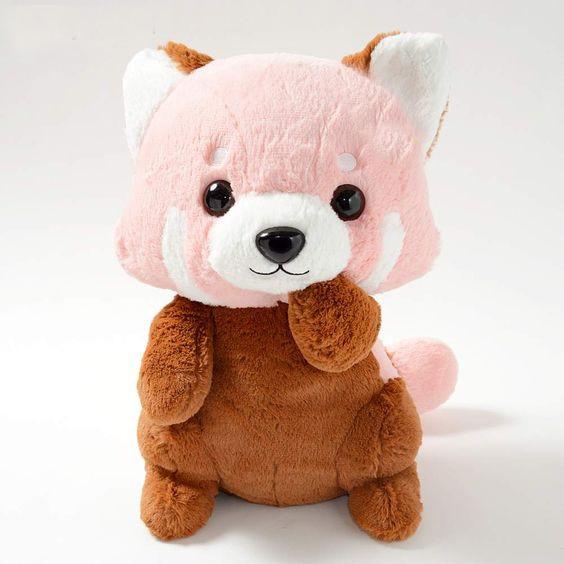 Adorable Lesser Panda No Akachan Red Panda Stuffed Raccoon Toy Plush