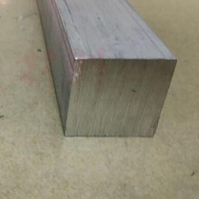 8x8x200mm Customized Aluminium Square Rectangular Flat Bar / Plate
