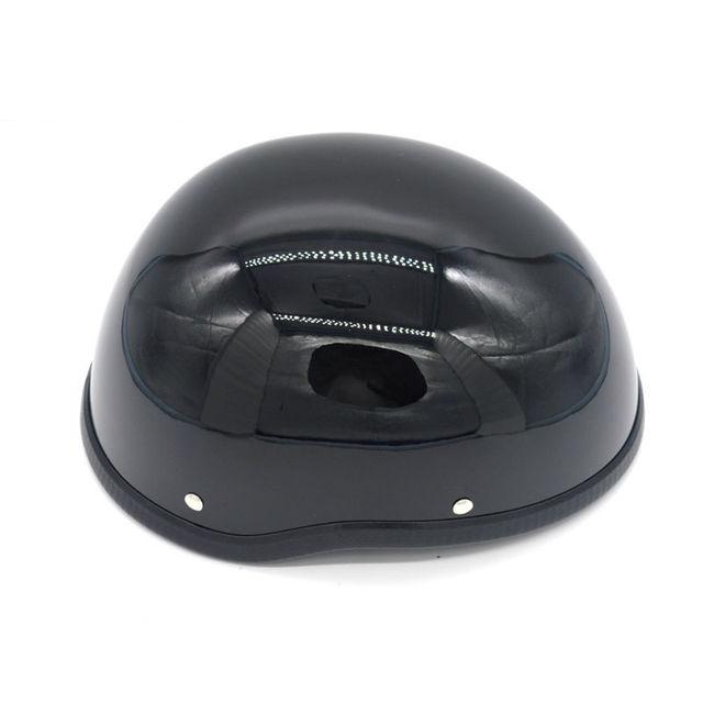 369fcbdc964d6 Casco de motocicleta Evomosa FRP vintage Cruiser medio cascos casco moto  capacete precio al por mayor