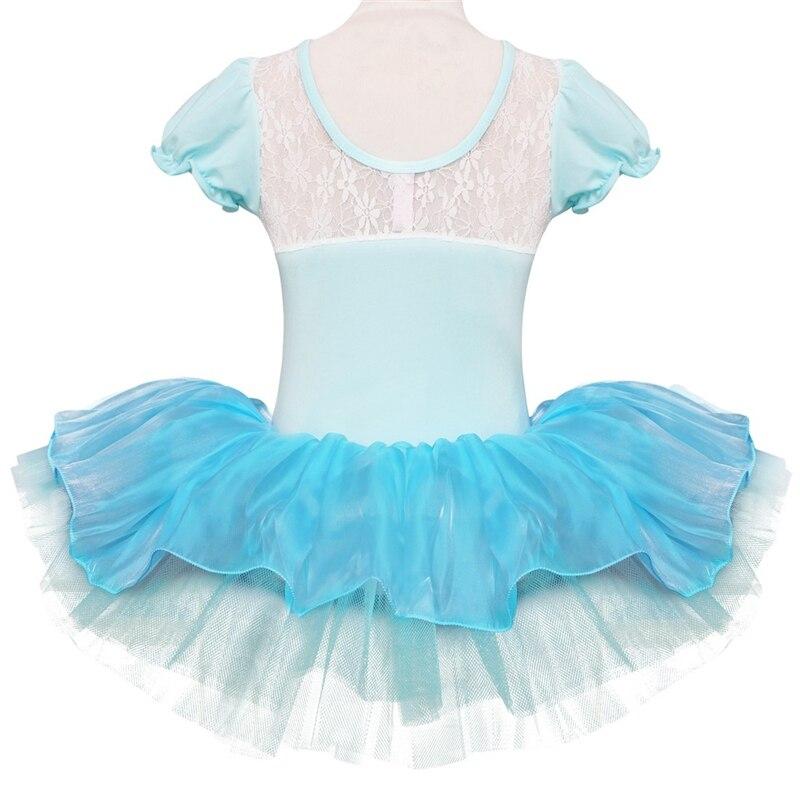 Image 3 - Children Girls Ballet Tutu Dress Flower Snowflake Sequins Ballet Leotards Kids Princess Stage Performance Dance CostumesBallet   -