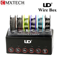 Original Youde UD Wire Box with KA1 SS316L Ni200 Nichrome 6 Kinds of Wires In This Box Electronic Cigarette Accessory