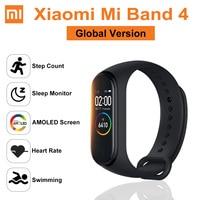 GLOBAL VERSION Original Xiaomi Mi Band 4 Smart Watch Wristband Amoled bluetooth 5.0 Waterproof Heart Rate Fitness Sport Bracelet