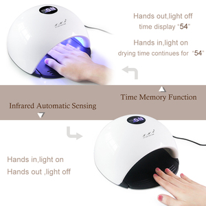 Image 5 - LKE 48W Nail Dryer SUN X9 UV Lamp 3 Timed Mode With Automatic Sensing Nail Lamp for Nails Drying Builder Gel UV Nail Dryers