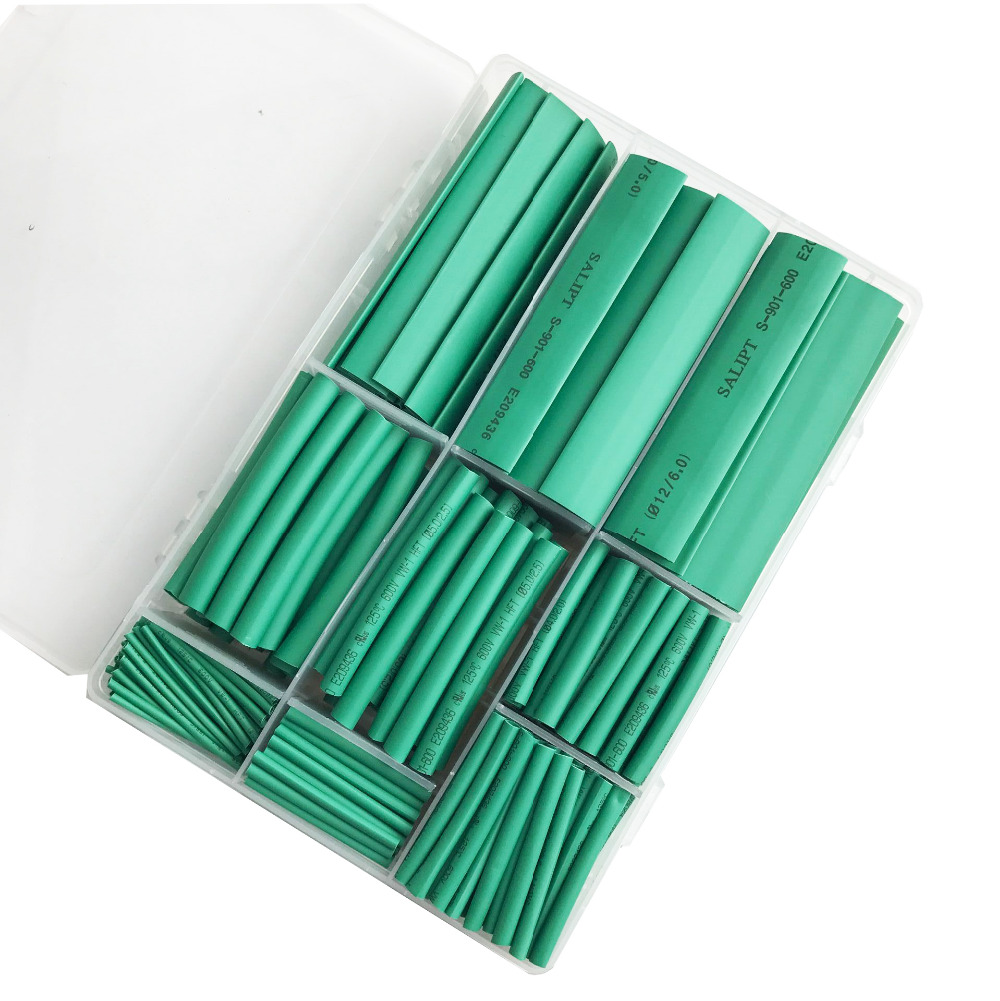 385pcs heat shrinking tube 2:1 Shrinkage ratio