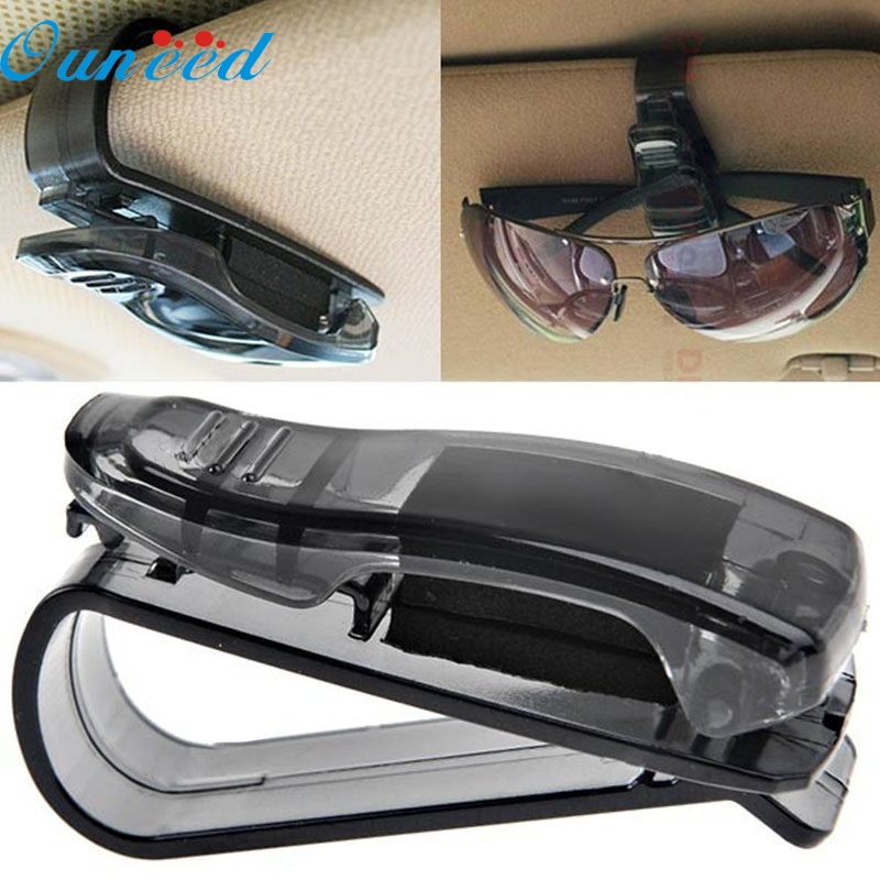 D3 May 18 Car Sun Visor Glasses font b Sunglasses b font Ticket Receipt Card Clip