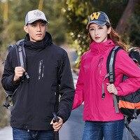 New Women men Jacket Winter outdoor camping hiking parkas coat male Thermal Windbreaker men women Waterproof Windproof jackets