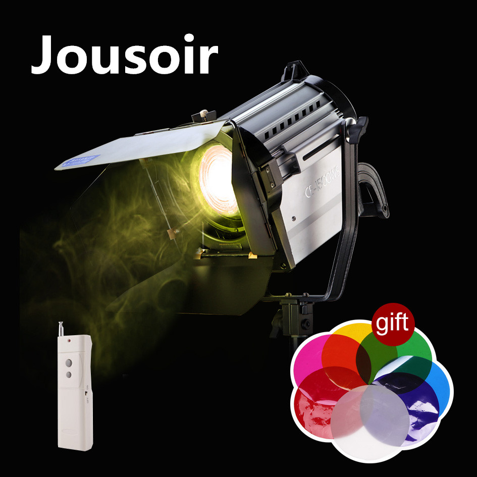 ALUMOTECH-150W-LED-Spot-Light-Wireless-Dimmable-Bi-color-Spotlight-Studio-Fresnel-LED-Light-3200-5500K