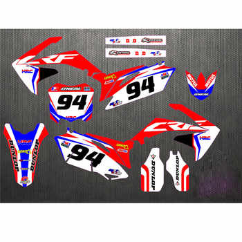 10-13 CRF250R Free Customized Stickers Kit Full Graphic Background Sticker Decal for Honda CRF 250 CRF250 2010 - 2013 2011 2012 - DISCOUNT ITEM  25% OFF All Category