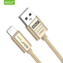 GOLF Original USB Cable for iPhone 5 6 7 8 X XS Max XR USB Data Sync Charging Cable for iPhone 5S 6S Plus Phone USB Charger Wire(China)