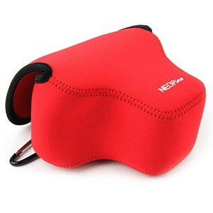 Image 4 - Portable Protective Soft Case Cover Waterproof Inner Camera Bag for Canon Powershot SX70 HS SX60 HS / Fujifilm X T3 18 55mm lens