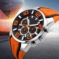Мужские спортивные часы от известного бренда  водонепроницаемые цифровые аналоговые кварцевые наручные часы с силиконовым ремешком  пять ...