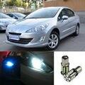 2 pcs LED Avançada Largura Lâmpadas Wedge Lâmpada Luz de Advertência Do Carro Para Peugeot 408