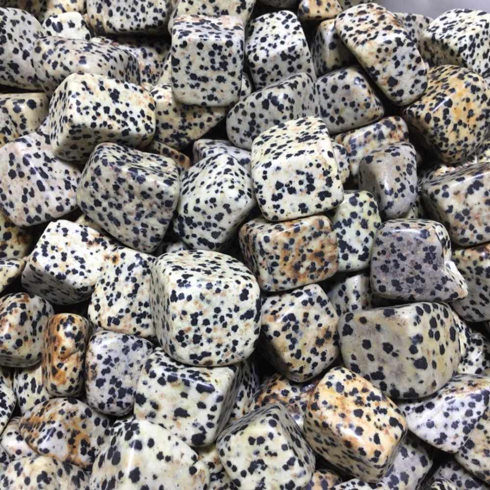 الطبيعي شقرا الأحجار الكريمة الدلماسية جاسبر هبط حجارة الشفاء