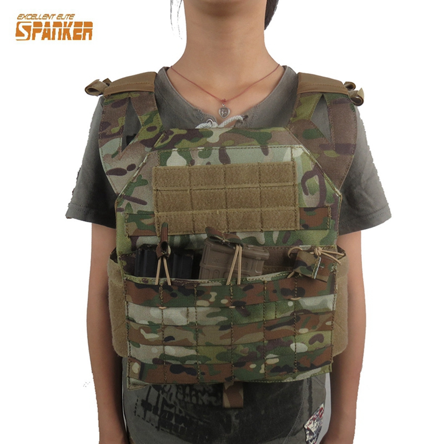 Mini Jpc Vest Tactical Military Molle Plate Carrier Children Hunting