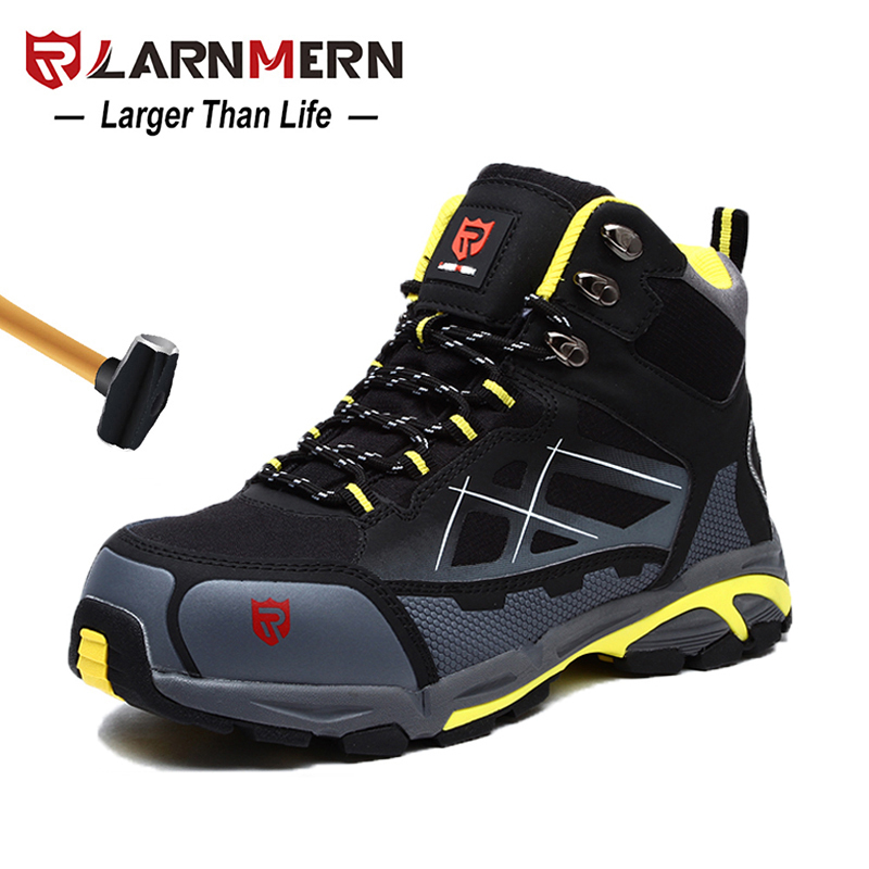 Men/'s safety shoes Summer work boots hiking shoes lady protective shoes size2-12