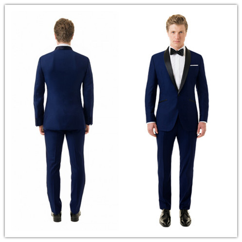 Online Get Cheap Navy Blue Mens Full Wedding Suit -Aliexpress.com ...