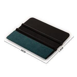 Image 4 - FOSHIO 6 pcs אין שריטות ויניל מגב סט פחמן סרט רכב גלישת מגרד חלון גוון גלישת כלי ערכת רכב אבזרים
