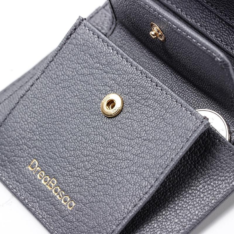 carteiras com coin purse Material Principal : Couro Genuíno