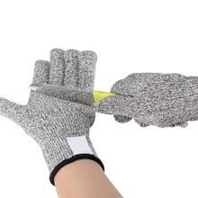 1 пара порезов перчатки Hppe анти-порезные перчатки рабочие перчатки защитные пальцы кухонные мужские износостойкие защитные перчатки
