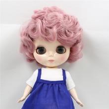 Blythอวบตุ๊กตา90BL1063สีชมพูCurlyผมPlumpy Lady 1/6ไขมันสาวของขวัญของเล่น
