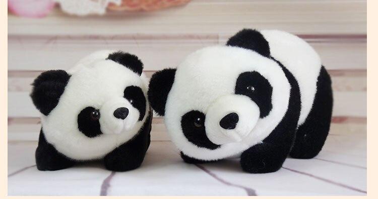 Children baby panda bear hug doll stuffed toy doll lovers gift ...