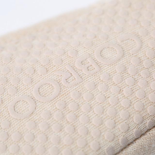 2017 Nueva Marca de zapatos de bebé recién nacido suave elástico a rayas de algodón orgánico del bebé niños y niñas zapatos del niño primeros caminante