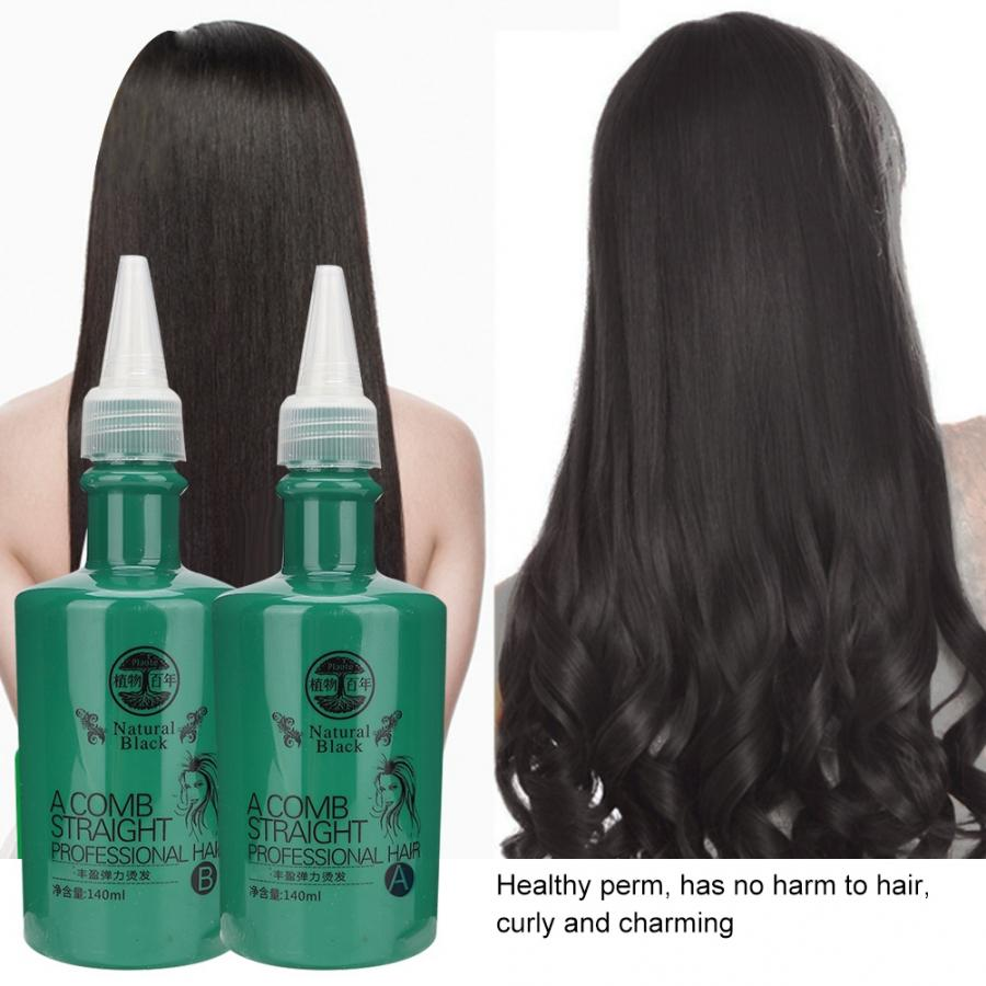 Hair-Lotion Enhancers Curling-Hair Perm Cold-Wave Solution-Rinka Wavy Conditioner140ml